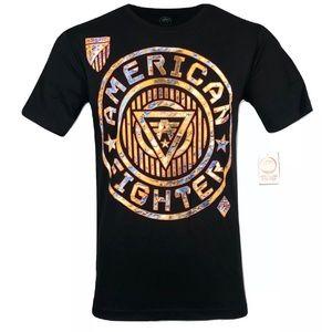 AMERICAN FIGHTER Mens T-Shirt NORTHBRIDGE LINEAR